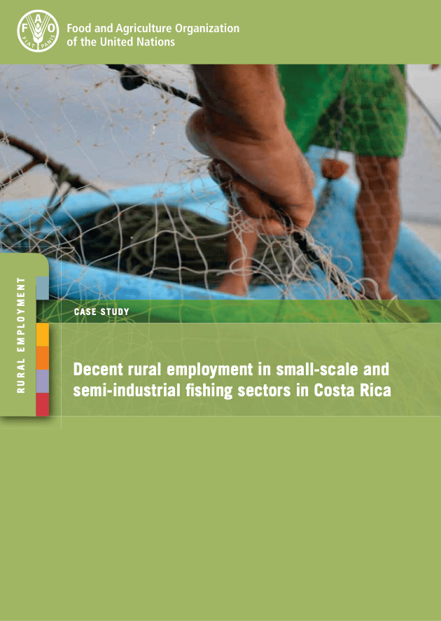 Decent rural employment in small-scale and semi-industrial fishing sectors in Costa Rica