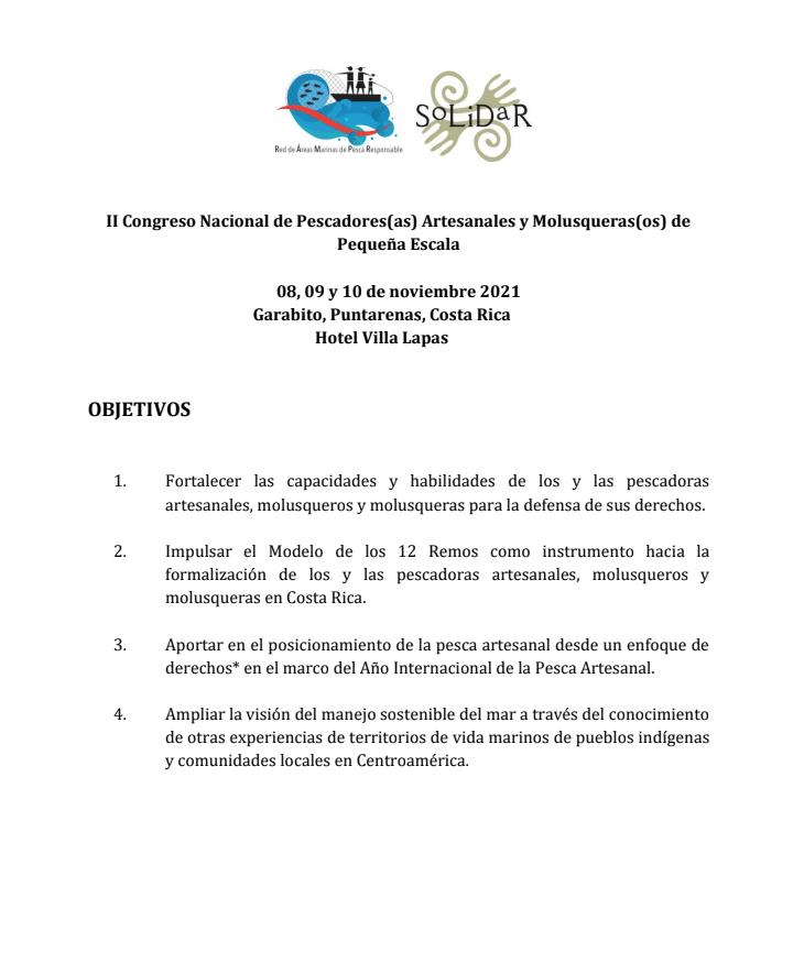 Programa II Congreso
