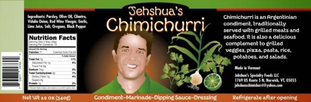 Jehshuas-Chimichurri-Label