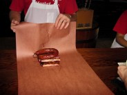 Ribs and sausage