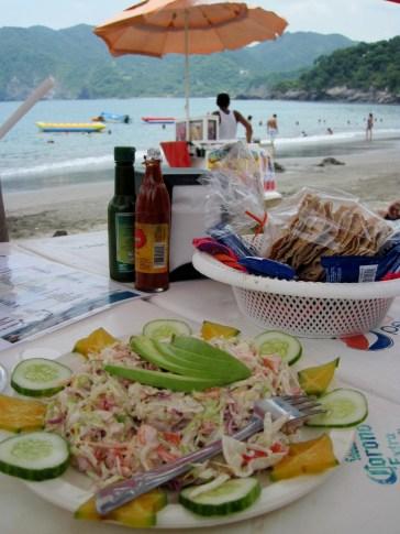 Shrimp Salad, Cuastecomate
