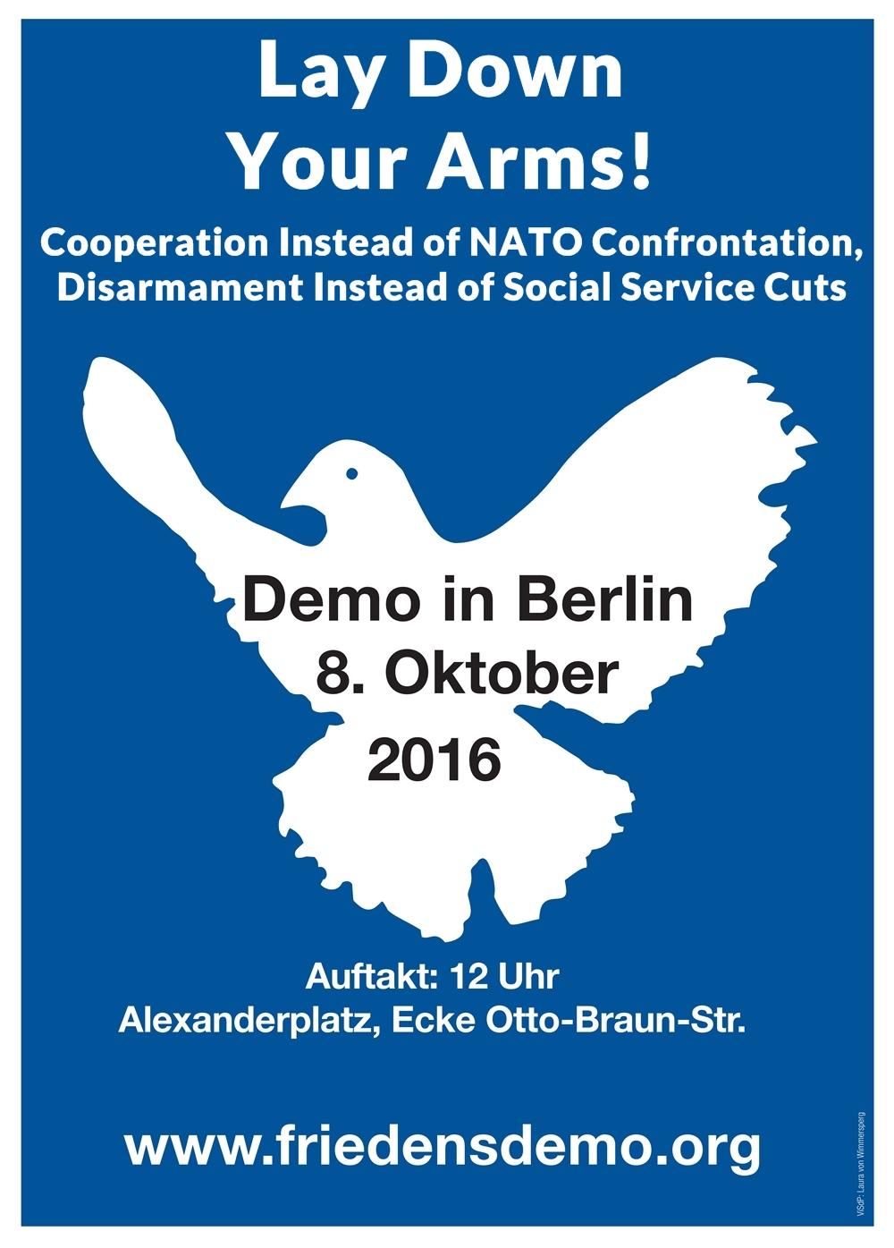 nationwide demonstration in berlin