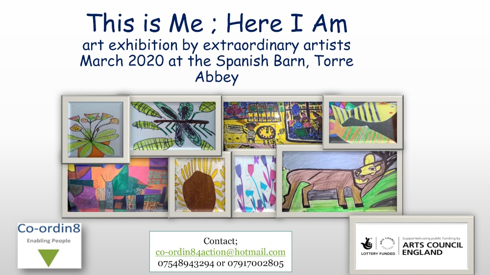 This is Me - Here I am poster with a lot of images