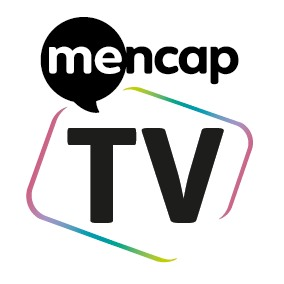 mencap logo with TV underneath