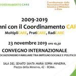 10 anni con CARE - L'associazionismo familiare tra impegno sociale e politico - Roma, 23 novembre 2019