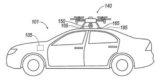 Ford details drone-based vehicle sensor backup