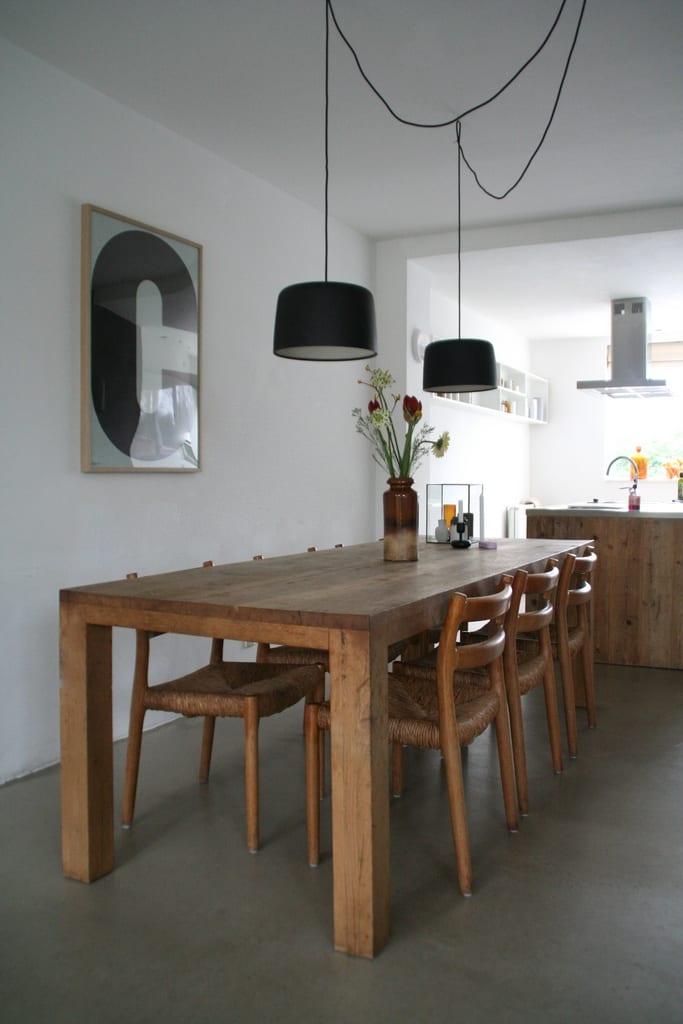 lampen boven de eettafel  Coosje Blog Nordic living