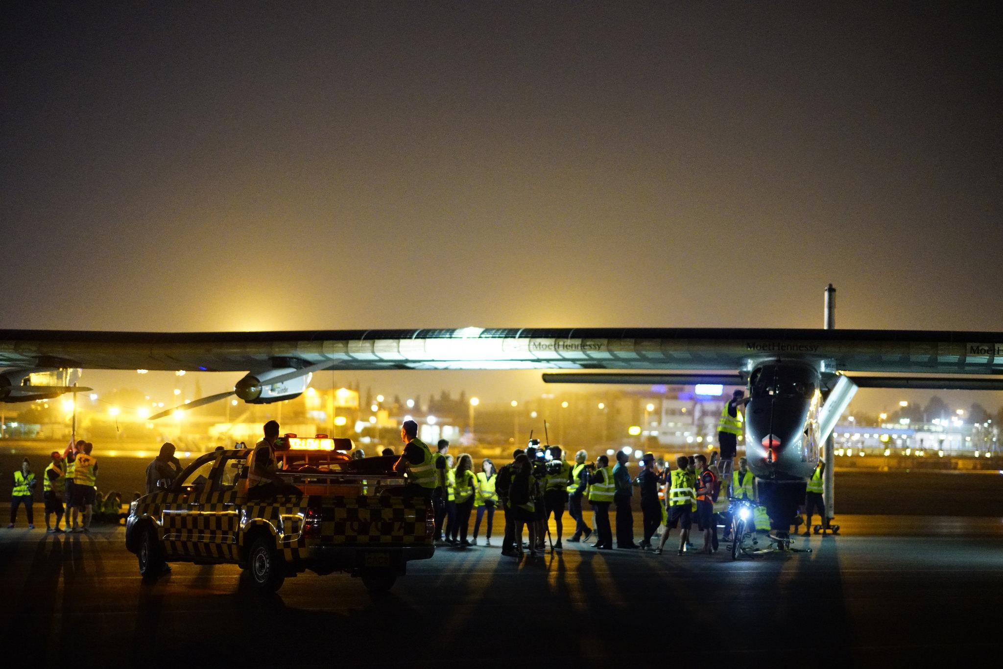 Journey's End: Solar Impulse Lands in Abu Dhabi