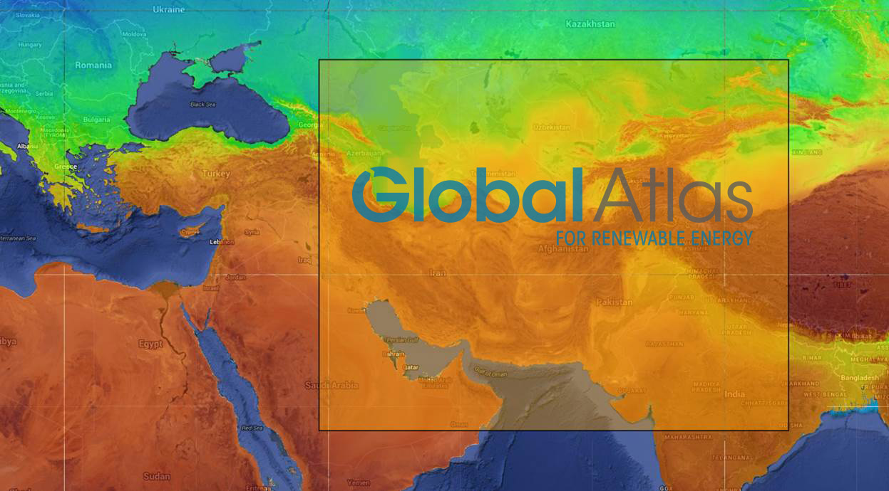 New Solar & Wind Maps Downloadable on IRENA Global Atlas