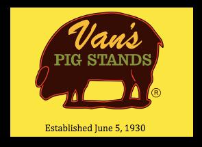 van's pig stand
