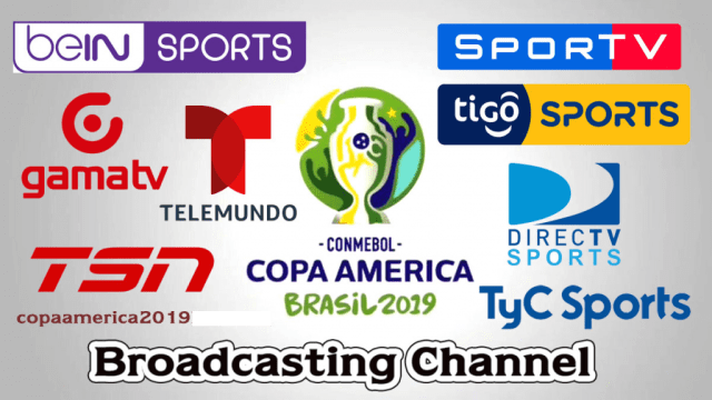 Copa America 2019 Live Streaming TV Channels