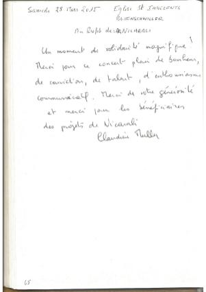 Livre d'Or - Page 65