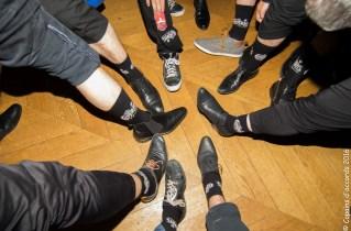 Merci Labonal pour les chaussettes avec le sigle des copains!