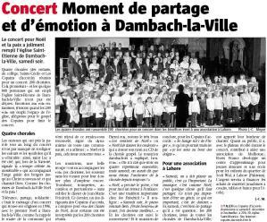 L'Alsace du 5 décembre 2007