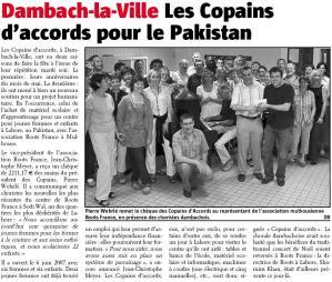 L'Alsace du 14 juin 2008