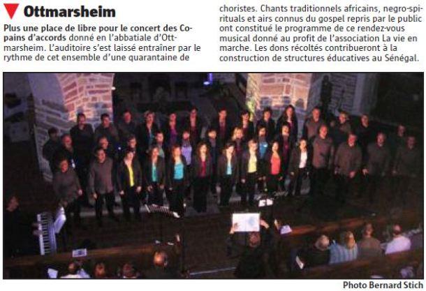 L'Alsace du 27 octobre 2012