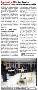 L'Alsace du 1er mars 2013