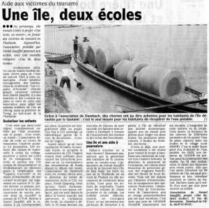 DNA du 1er septembre 2005