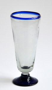 Pilsner - cobalt blue rim