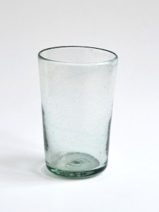 Tapered tumbler glass