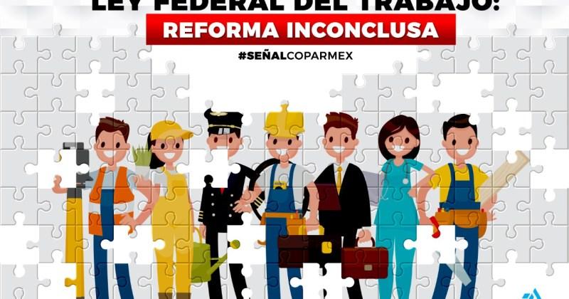 LA LEY FEDERAL DEL TRABAJO: REFORMA INCONCLUSA