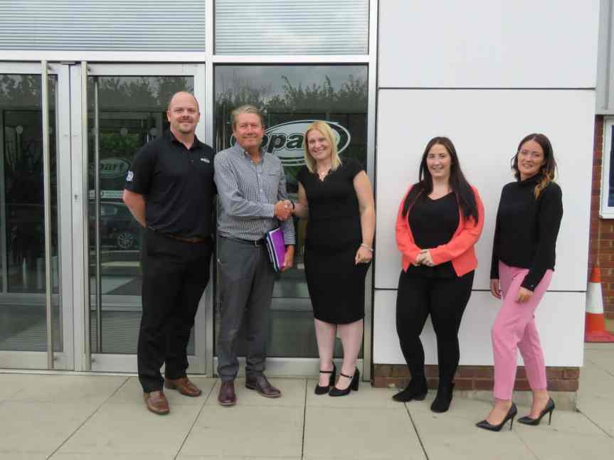 Copart Awarded CCA Global Standard Accreditation