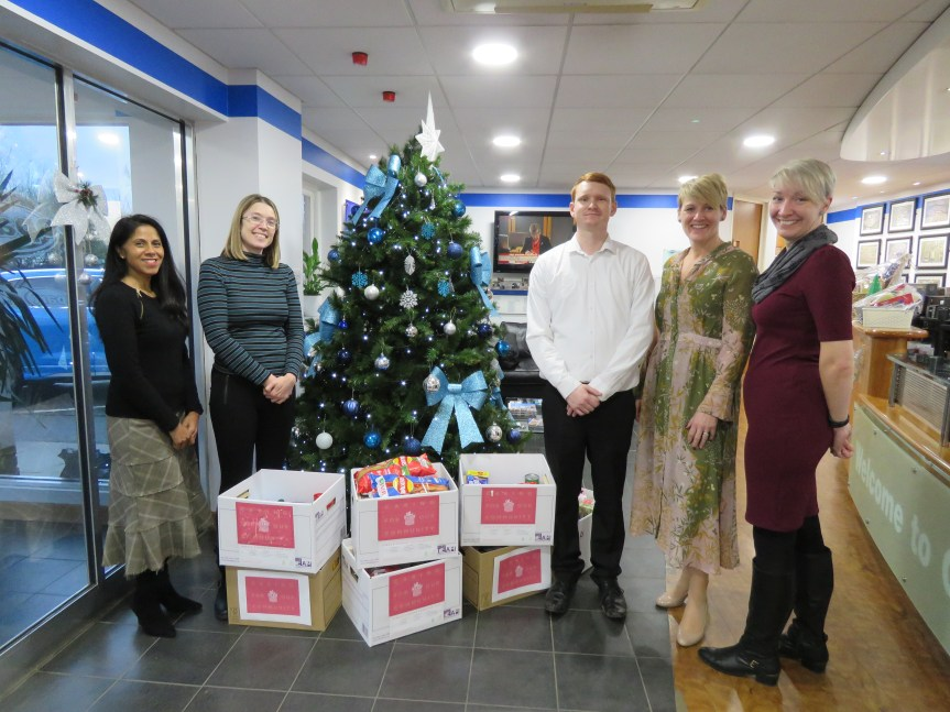 Local community Foodbank donations from Copart