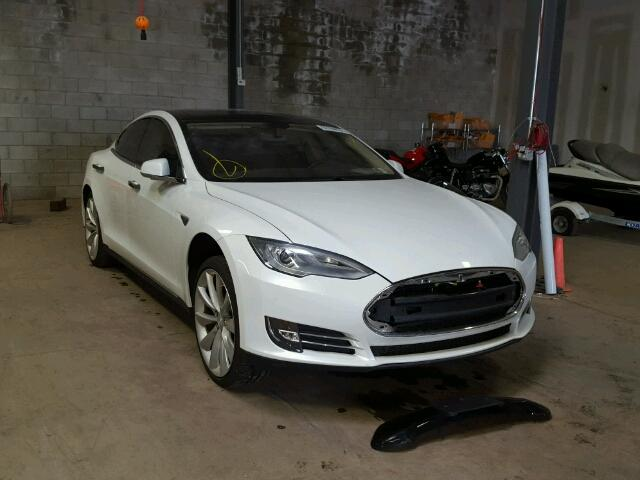 Used Tesla Model S at Copart