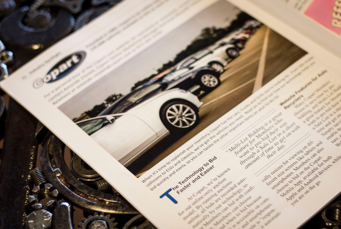 Auto Recyclers Industry News Article