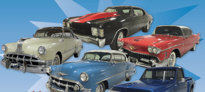 Classic Cars Available in Copart Middle East Auto Auction -