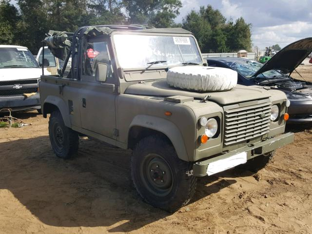 1987 Land Rover 90: Simple and Dependable