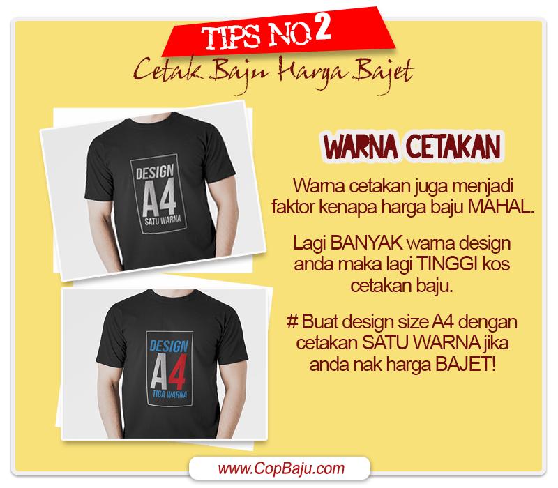 Copbaju - Tips Cetak Baju Tshirt Murah Bajet 02