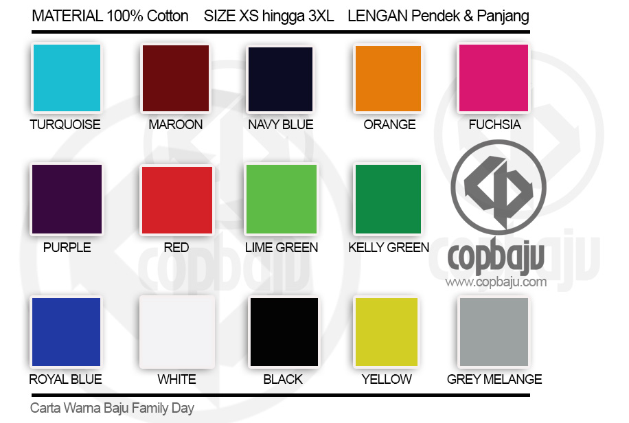 Carta-Warna-Baju-Family-Day-Copbaju.com