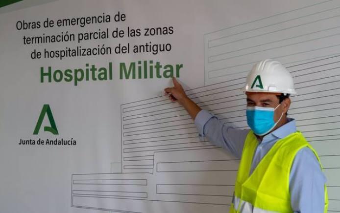 El antiguo hospital Militar de Sevilla acoge el mensaje de fin de año del  presidente andaluz - Sevilla - COPE