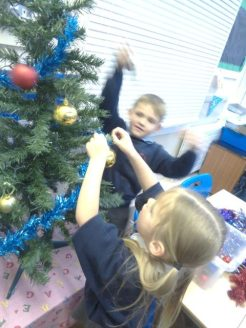 Christmas in Class 1