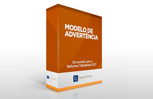 Modelo de Advertência
