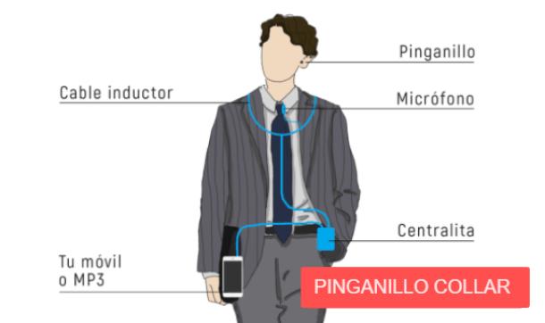 Pinganillo collar
