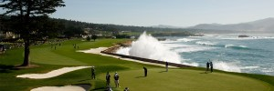 Hole 18 at Pebble Beach