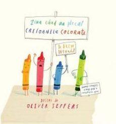 """""""Ziua când au plecat creioanele colorate"""", de Drew Daywalt"""