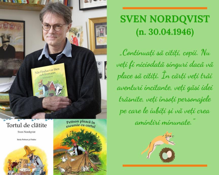 Sven Nordqvist (n. 30.04.1946)