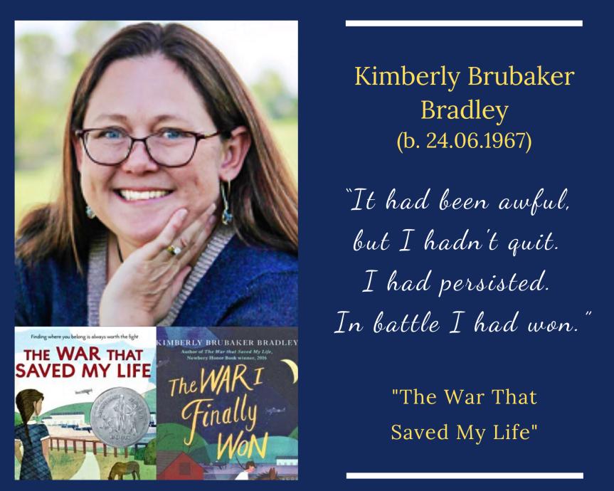 Kimberly Brubaker Bradley (b. 1967)
