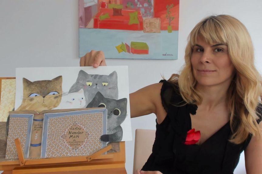 Interviu cu un scriitor de cărți pentru copii… Cristina Andone