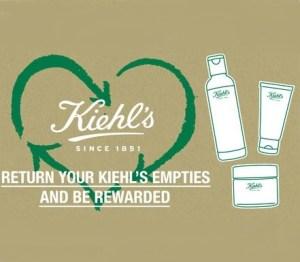 KIEHL'S Recyclage produits