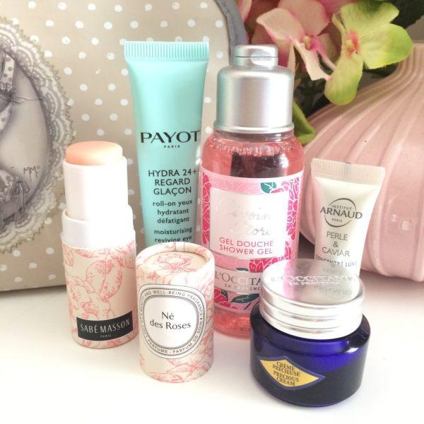 Travel Beauty Bag qu'est-ce que j'emmène en vacances