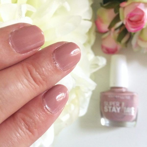 vernis à ongles super stay 7 days maybelline avis