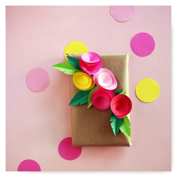 DIY paquet cadeau Cecile Poulettemagique