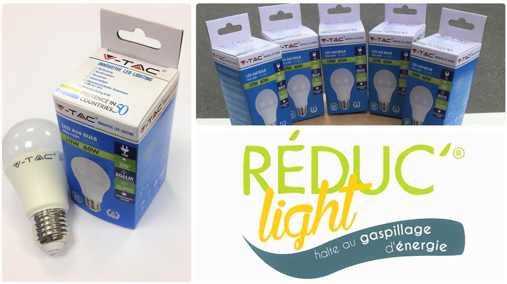 Pack ampoules LED gratuites Reduc Light