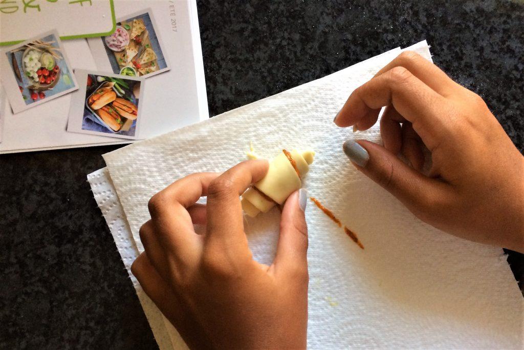 Croissants et torsades aperitifs