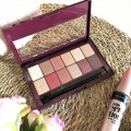 Couverture palette maybelline the burgundy bar
