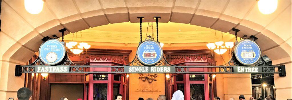 Bon Plan Disneyland Paris single rider